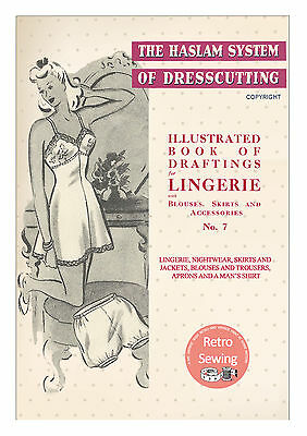 £12.49 • Buy The Haslam Book Of Dresscutting Lingerie No. 7 1940's