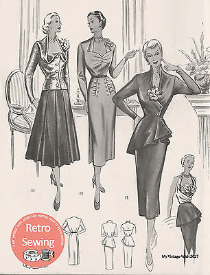 The Haslam Book Of Dresscutting No. 29 - 1950's   • 12.49£