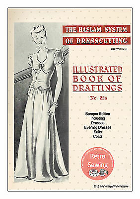 The Haslam Book Of Dresscutting No. 22 Bumper 1940's Edition  • 12.49£