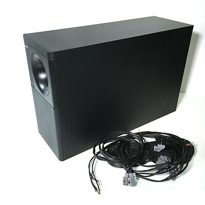 bose acoustimass 10 series ii subwoofer with speaker cables • 94 99$