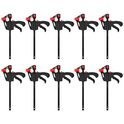 AU27.12 • Buy 1/2/5/10X Woodworking Clip Bar F Clamp Grip Quick Ratchet Release Squeeze Tools