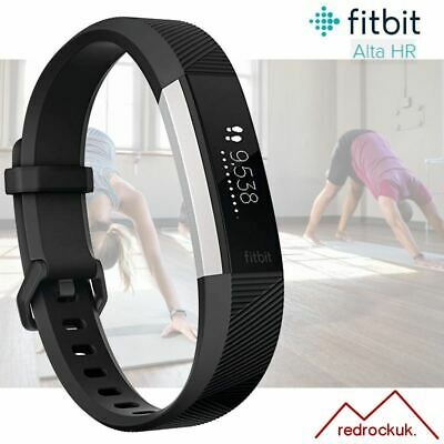 View Details Fitbit Alta HR Fitness Activity Tracker With Heart Rate - Black - Large • 69.95£