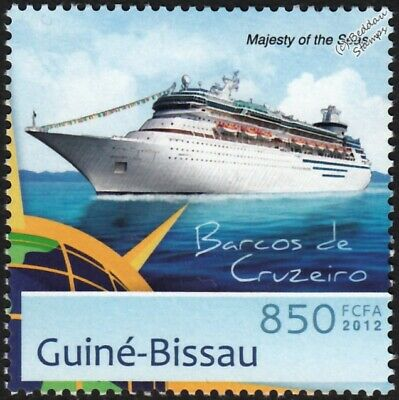 $2.77 • Buy MAJESTY OF THE SEAS (Royal Caribbean Cruises) Cruise Liner Ship Stamp