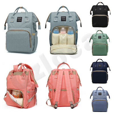 AU22.99 • Buy Luxury Multifunctional Baby Diaper Nappy Backpack Maternity Mummy Changing Bag