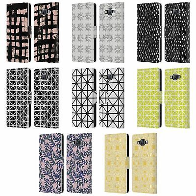 Official Kookiepixel Patterns 3 Leather Book Wallet Case For Samsung Phones 2 • 14.95£