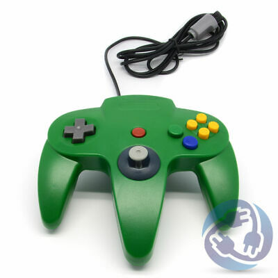 $ CDN21.27 • Buy Nintendo 64 N64 Replacement Wired Controller Gamepad - Green