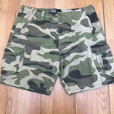 c18f6ba101 Billabong Camo Cargo Shorts Mens Green Camouflage 38 3#SB • 20.00$