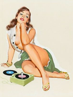 £15.29 • Buy Pin-Up Classic - Sexy Vintage Women Music Art Large Poster / Canvas Pictures