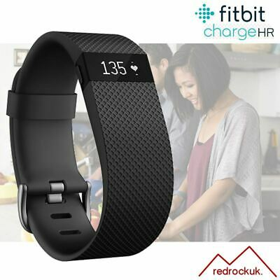 View Details Fitbit Charge HR Fitness Activity Tracker With Heart Rate - Black - Small • 34.95£
