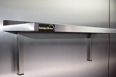 Stainless Steel Shelf 1500mmx350mm For Commercial Kitchens Workshops And Stores  • 71.43£