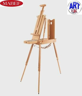 £189 • Buy Mabef Professional Artist Beech Wood Small Sketching Box Easel Plein Air - M/23