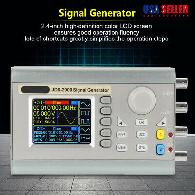 JDS2900 60MHz DDS Digital Function Signal Generator Counter Frequency Meter • 88.35$