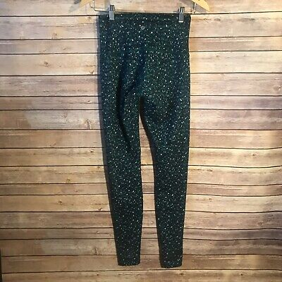 0535103040 Lululemon Wunder Under Pant Hi-Rise Mountain Peaks Forage Green Size 6 •  48.00$