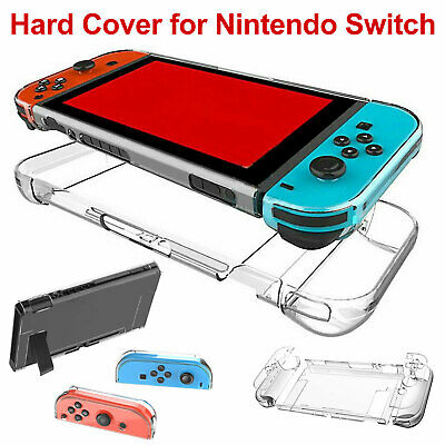 $9.17 • Buy For Nintendo Switch Joy-Con Clear Hard Case Cover Anti-Scratch Protective Shell