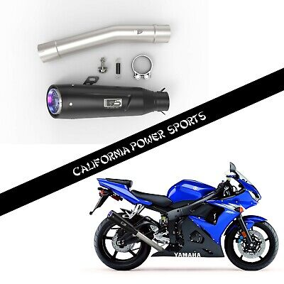 $119.99 • Buy CPS SLIP ON PIPE MUFFLER EXHAUST FIT For Yamaha YZF R6 R6s 2003-2009 06 07 08 B2