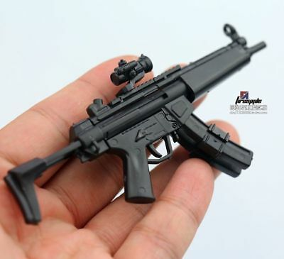 £6.79 • Buy MP5 MODO Submachine Weapon Gun+Stent F1/6 Scale12  Action Figure 1:6 Model Toy