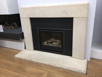 J DAY WESSEX STONE VILLENA Natural BATH STONE Stone Fireplace Mantle  & Hearth • 625£