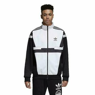 $ CDN53.41 • Buy Adidas Originals BR8 Track Jacket Men's ( Size L ) Black White CZ6109