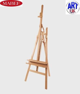 £195 • Buy Mabef Professional Artists Beech Wood Inclinable Napoli Lyre Studio Easel - M/11