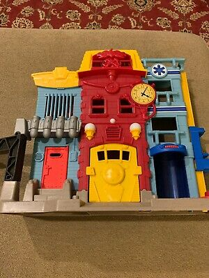 Fisher Price Imaginext Rescue City Center Fire Station No Accessories (JL) • 8.68£