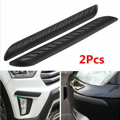 $20.60 • Buy Car Parts Accessories Carbon Fiber Wrap Corner Bumper Guard Anti-rub Protector