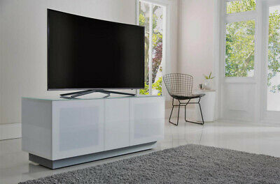 White TV Stand Cabinet Unit For JVC Logik 37 40 43 49 50 55 58 60 Inch TVs • 259.50£