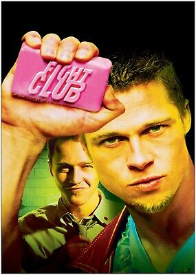 £10.50 • Buy Fight Club Classic Movie Large Poster Art Print Maxi A0 A1 A2 A3