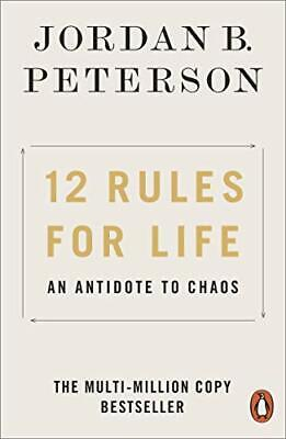 AU10.81 • Buy 12 Rules For Life: An Antidote To Chaos,Jordan B. Peterson- 9780141988511