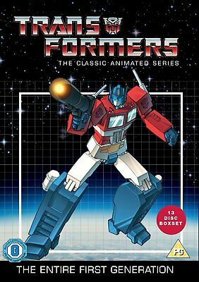 Transformers: The Classic Animated Series UK REGION 2 DVD • 19£