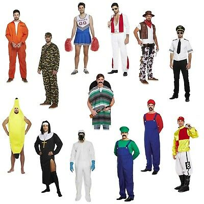 Adult Male Student Fancy Dress University Freshers Carnage Pub Crawl Outfit NEW • 18.99£
