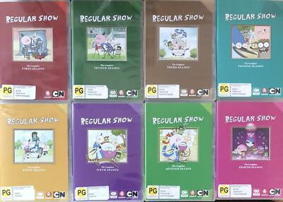 Regular Show - Complete Series 1-8 [non-usa Format Pal Region 4] (20dvd)  • 82.28£