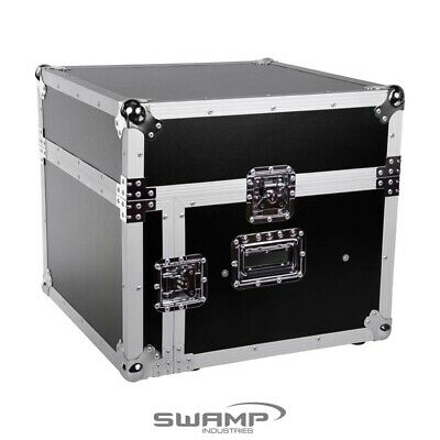 AU259.99 • Buy SWAMP Wooden 19 Inch Rack 6U DJ Road Case With Top Mixer Space