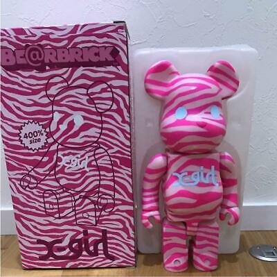 $199.99 • Buy BE@RBRICK 400% X-girl Camouflage Pink Ver. Rare Medicom Bearbrick From Japan