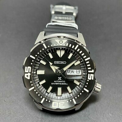 $ CDN465.82 • Buy Latest SEIKO Prospex SRPD29 SRPD29K1 Monster Automatic Black Steel Warranty