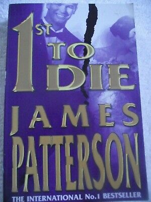 AU6 • Buy   1st TO DIE    ~ James Patterson ~ LARGE PAPERBACK