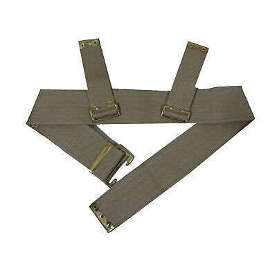 Web Belt 3 Wide For WWI AIF P08 Waist Belt / British P08/1908 Pattern Waist E230 • 31.19£