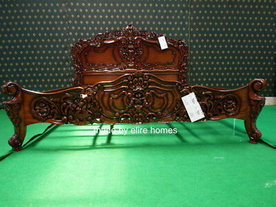 UK STOCK  6' Super King Size  French Style Rococo Bed Designer Baroque Furniture • 999£