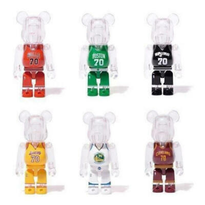 $399.99 • Buy BE@RBRICK 100% NBA 70th Anniversary Hong Kong Limited Set Rare Medicom Bearbrick