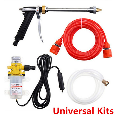 12V Mini Portable Electric Car Washer Kit 100W 160PSI High Pressure Water Pump A • 24.68$