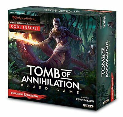 AU91.43 • Buy WizKids Dungeons & Dragons Tomb Of Annihilation Adventure System Board Game