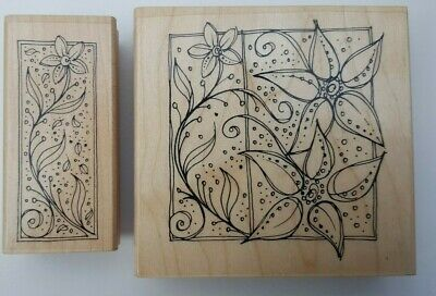 £4 • Buy Rubber Stamps - Floral Art