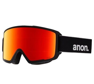 AU279.99 • Buy Anon M3 MFI Goggle + Face Mask In Black Sonar Red + Sonar Blue