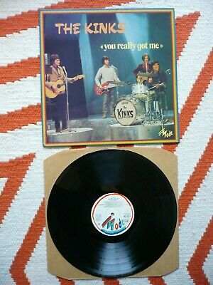 The Kinks You Really Got Me Vinyl French Import 1976 Vogue Compilation LP EXC • 19.99£