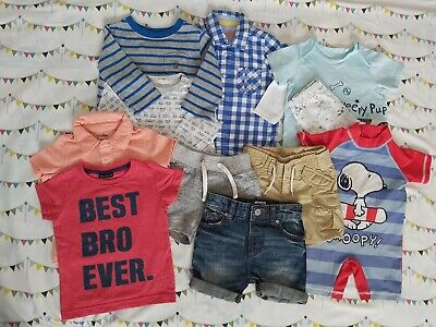 £12 • Buy Baby Boy Gap, Next, River Island, TU And Other 6-12months Summer Clothes/Bundle
