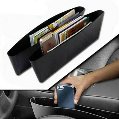 $10.39 • Buy 2Pc Universal Car Auto Accessories Phone Holder Organizer Seat Seam Storag Bag