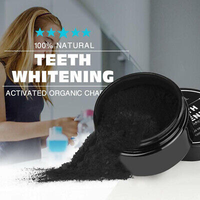 AU4.52 • Buy 100% Natural Organic Activated Charcoal Teeth Whitening Powder Bamboo Toothpaste