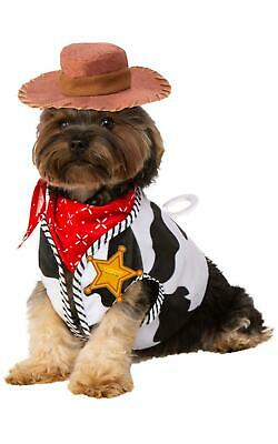 Woody Toy Story Dog Fancy Dress Costume Outfit Pet Dressup • 13.99£