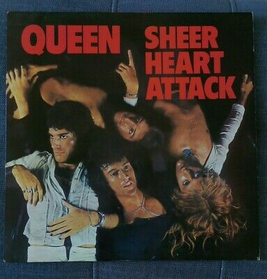 Queen Sheer Heart Attack Vinyl LP EMC3061 • 24.99£