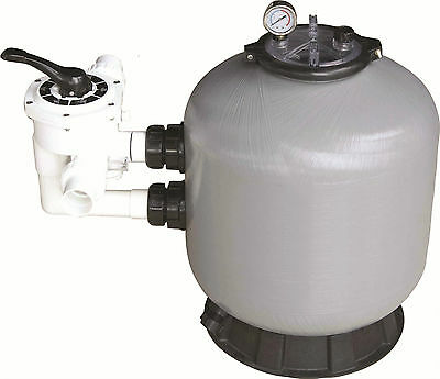 SWIMMING POOL SAND FILTER 28 INCH 28  710mm 19.5m³-4290gh FIBREGLASS POOL FILTER • 439.99£