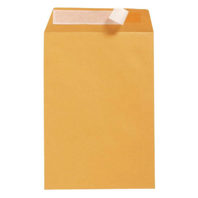 AU83.99 • Buy 250x Gold B4 DLX Cumberland Strip Seal Envelope 85GSM Plain Face Office Supplies